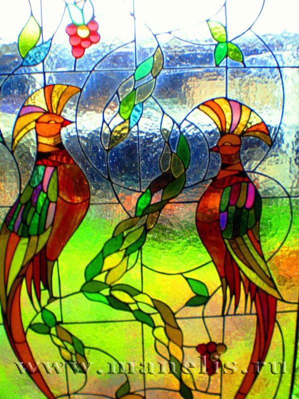 Узоры на стеклах своими руками